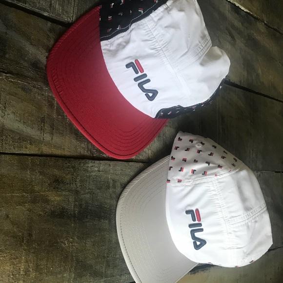 14b68d8d86d Two New Fila All Over Print 5 Panel Camper Hat